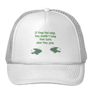 If Frogs Had Wings... Hat