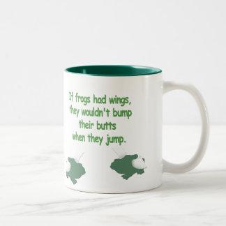 If Frogs Had Wings... Mug