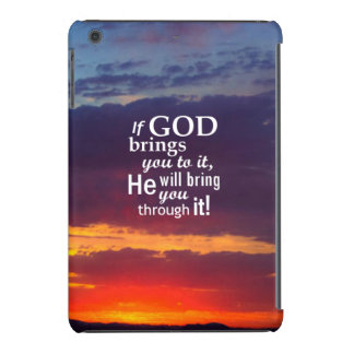 If GOD Brings you To It iPad Mini Case
