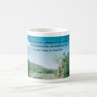 If God gave us a glimpse Classic White Coffee Mug