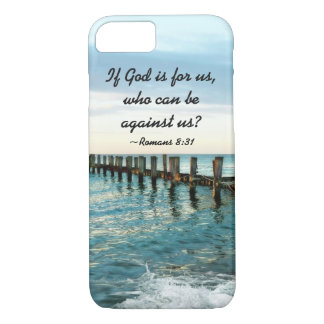 If God is for us who can be against us Romans 8:31 iPhone 7 Case