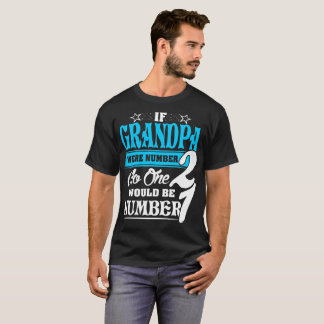 If Grandpa Were Number Two No One Number One Shirt