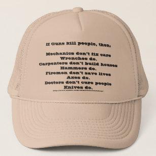 7a59f38939579 Guns Kill People Baseball   Trucker Hats