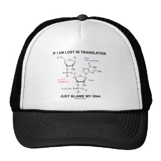 If I Am Lost In Translation Just Blame My RNA Trucker Hat