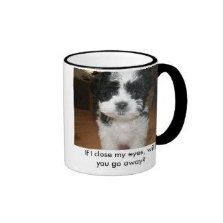 If I close my eyes Ringer Mug