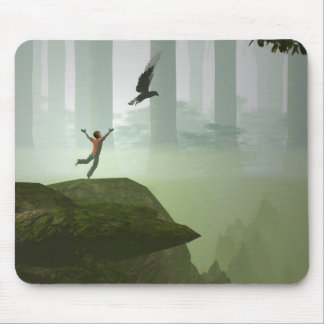 If I could fly Mouse Pad