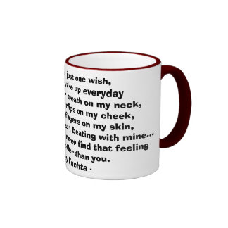 If I could have just one wish... Ringer Coffee Mug