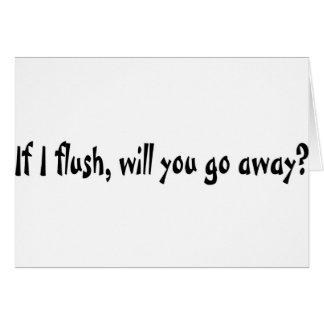 If I Flush Cards