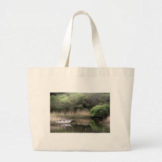 If i had a boat jumbo tote bag