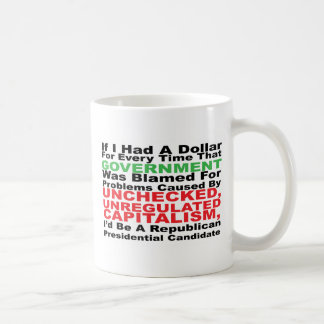 If I had a dollar... Classic White Coffee Mug