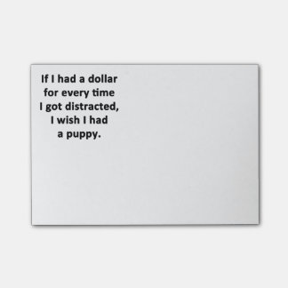 If I Had a Dollar Post-it Notes