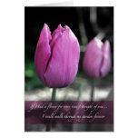 If I had a flower every time I thought of you card