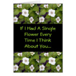 If I Had A Single Flower Cards