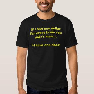 If I had one dollar... T-Shirt