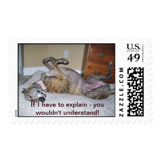 If I have to explain - Postage