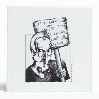 If I Knew Where I was Going 3 Ring Binder