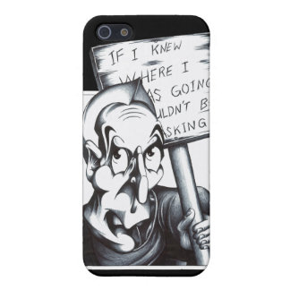 If I Knew Where I was Going iPhone SE/5/5s Case