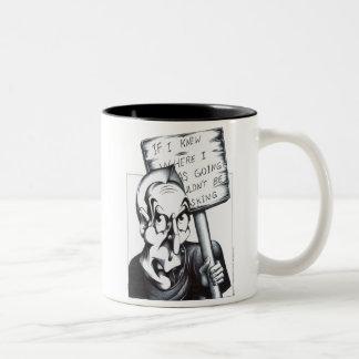 If I Knew Where I Was Going Two-Tone Coffee Mug