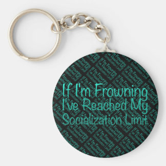 If I'm Frowning…in DuckBlue Keychain