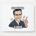 if i only had a bain - .png mousepad
