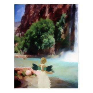 If I Were a Dragonfly 4 Postcard
