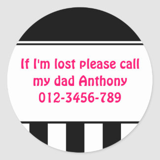 If I'm Lost Stickers