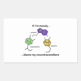 If I'm Moody... Rectangular Sticker