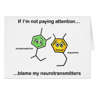 If I'm not paying attention... Greeting Card