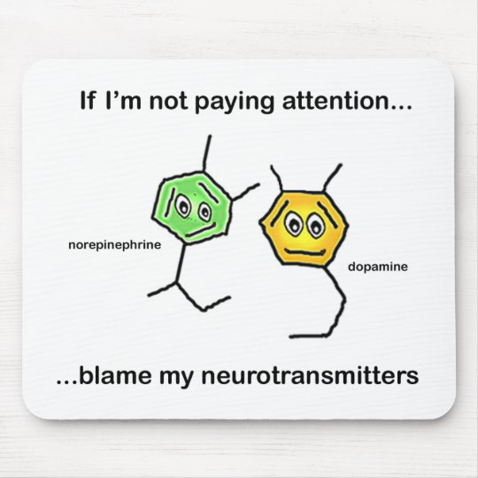 If I'm not paying attention... Mouse Pad