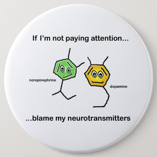 If I'm not paying attention... Pinback Button