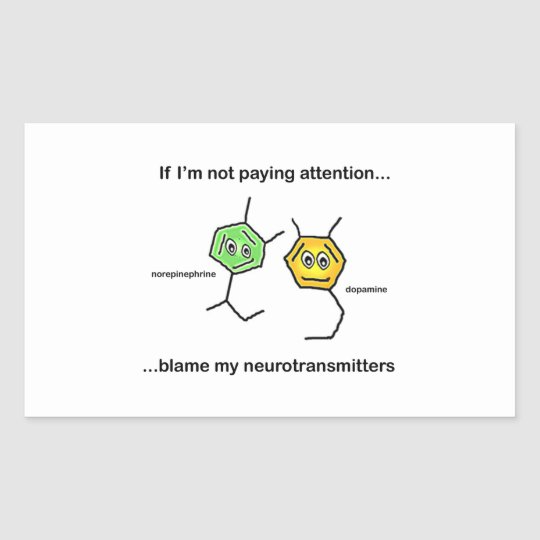 If I'm not paying attention... Rectangular Sticker
