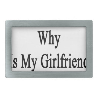 If I'm So Dumb Why Is My Girlfriend A Plumber Belt Buckle