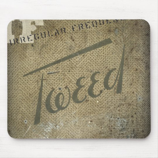 iF: Irregular Frequency Tweed Mouse Pad