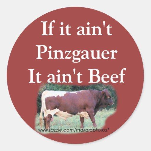 If it ain't Pinz-sticker-customize Classic Round Sticker