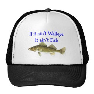 if it aint walleye aint fish mesh hats