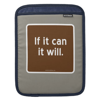If it can it will. sleeve for iPads