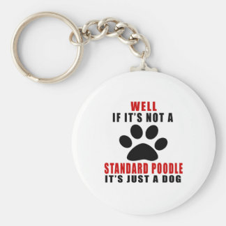 IF IT IS NOT STANDARD POODLE IT'S JUST A DOG KEYCHAIN