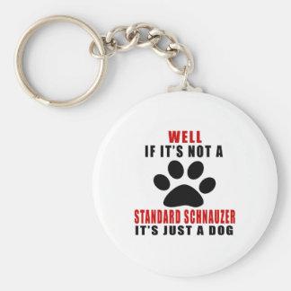 IF IT IS NOT STANDARD SCHNAUZER IT'S JUST A DOG KEYCHAIN