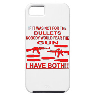 If It Was Not For The Bullets Nobody Would Fear iPhone 5 Cover