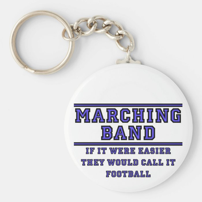 If It Were Easier They Would Call It Football Keychain