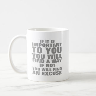 If It's Important To To You Coffee Mug