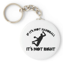 If it's not handball it's not right keychain