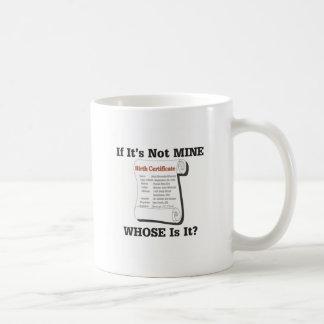 If It's Not MINE Coffee Mug