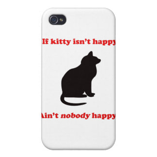 If Kitty Isn't Happy  iPhone 4/4S Cover