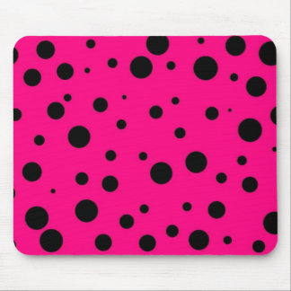 """""""If Leopards Were Pink"""" Mouse Pad"""