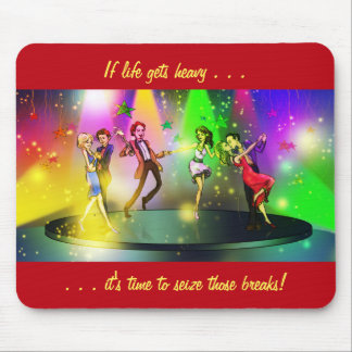 If life gets heavy Inspirational Mousepad (1)