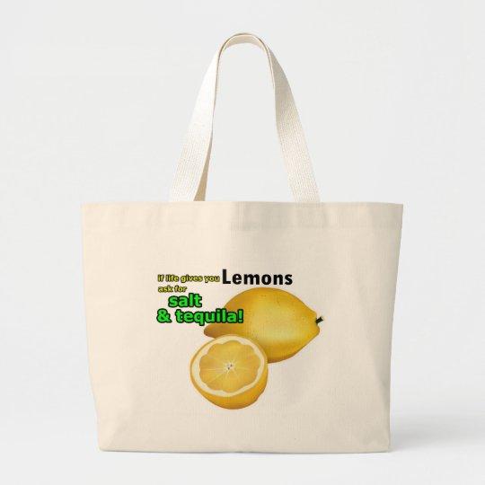 """""""If Life Gives You Lemons"""" Tote Bag"""