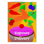 If Life Was Fair Exppress Delivery Greeting Card
