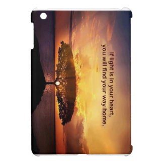If Light is in Your Heart iPad Mini Cases