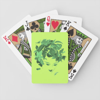 If Looks Could Kill (Dagger Eyes) Bicycle Playing Cards